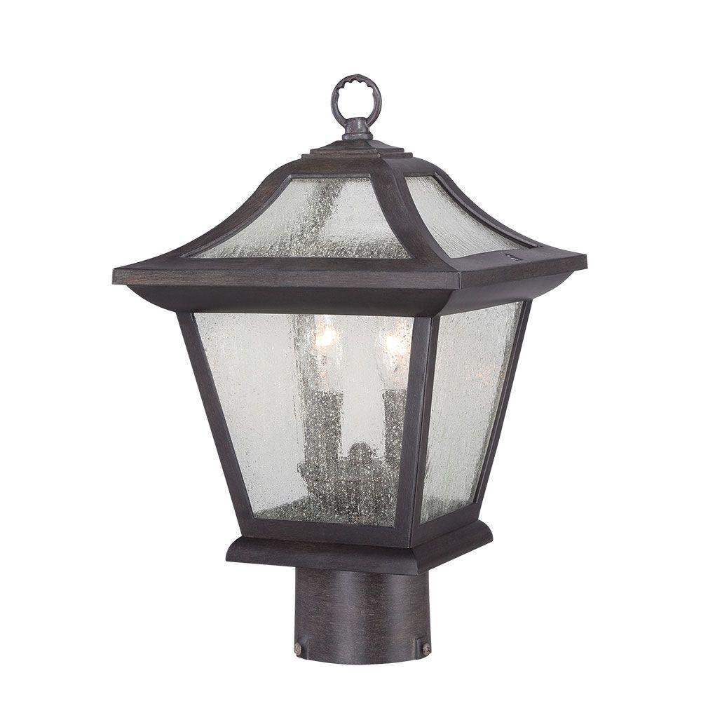 Acclaim Lighting Aiken Collection 2-Light Outdoor Black C...