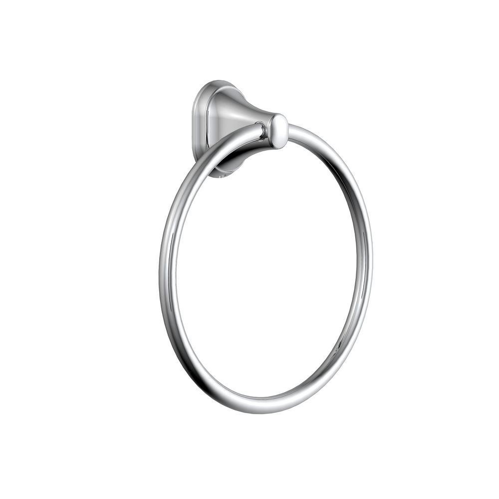 Treyburn Towel Ring in Chrome