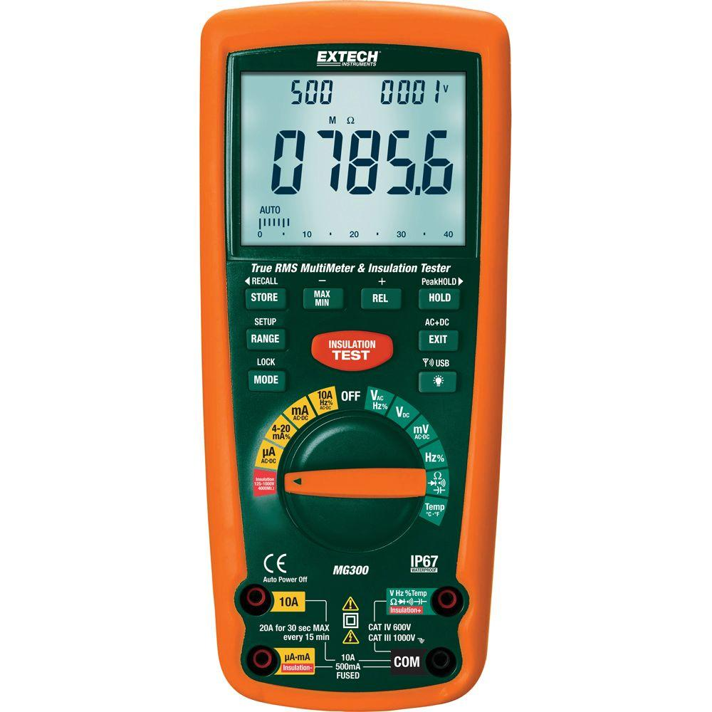 Multimeter For Home : Extech instruments function wireless true rms