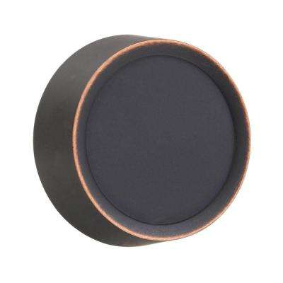 Dimmer Knob Wall Plate - Aged Bronze