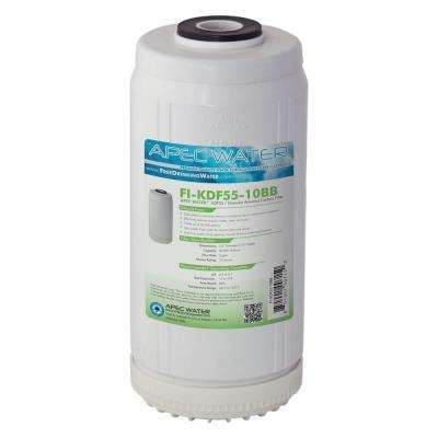 10 in. Whole House Replacement Water Filter Chlorine, Heavy Metal and Bacteria Removal