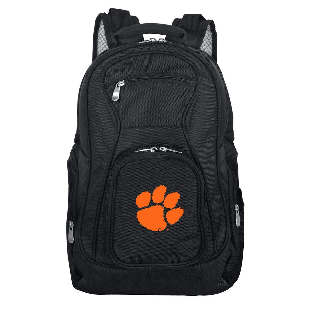 NCAA Clemson Black Backpack Laptop