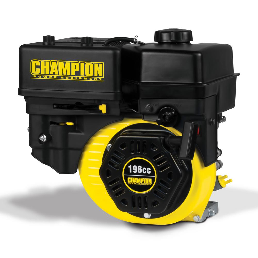 f09468687c2 Champion Power Equipment 196cc General Purpose Replacement Gas  Engine-100220 - The Home Depot
