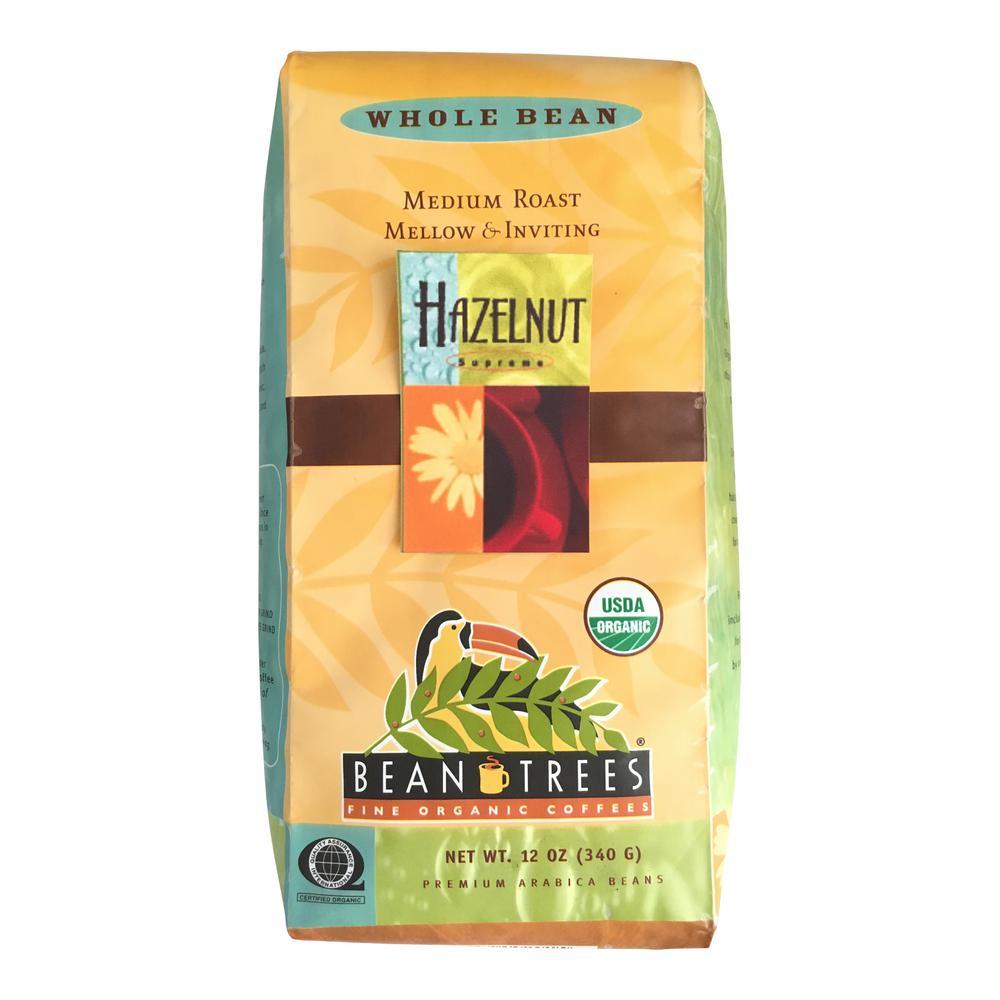 12 oz. Hazelnut Coffee Whole Beans (3-Bags)