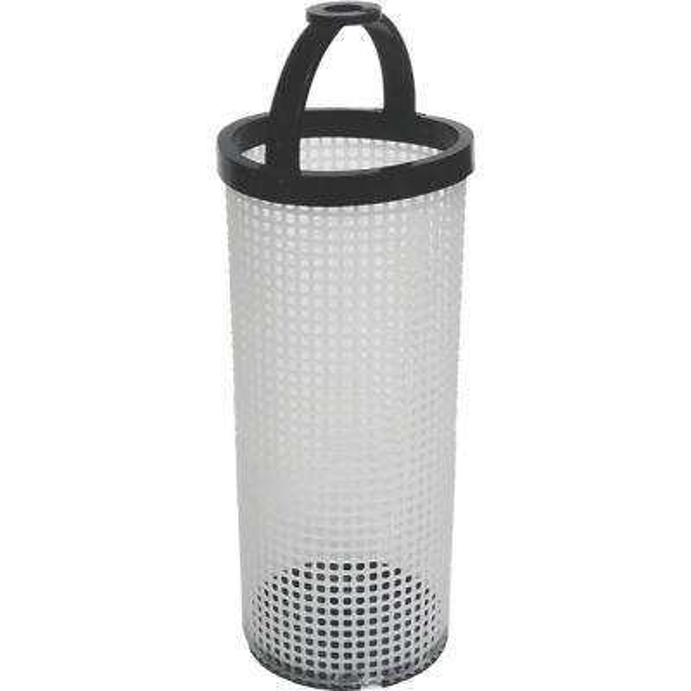 3.1 in. x 18.3 in. Polyethylene Filter Basket for ARG Strainer