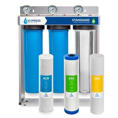 Whole House 3 Stage Water Filtration System