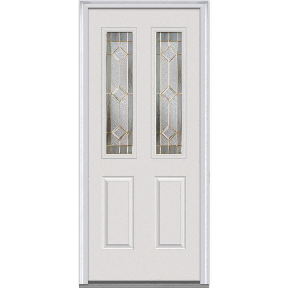 Home Depot 34 X 80 Exterior Door Grisham 34 In X 80 In 501 Series Genesis Steel Black Prehung
