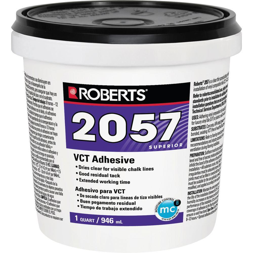 Roberts 2057 1 Qt Premium Vinyl Composition Tile Glue