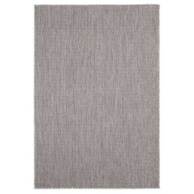 Augusta Dominical Brown 7 ft. 10 in. x 10 ft. 6 in. Indoor/Outdoor Area Rug