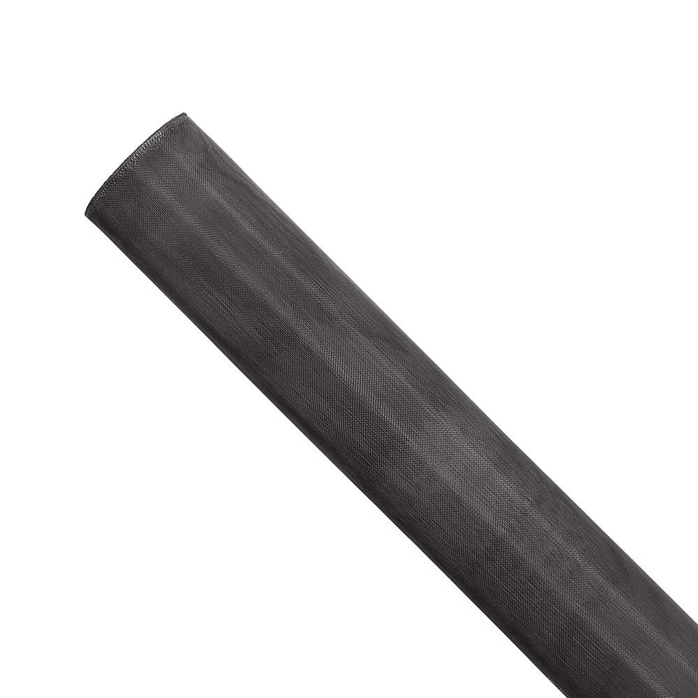 Saint-Gobain ADFORS 72 in. x 1200 in. Black Aluminum Insect Screen