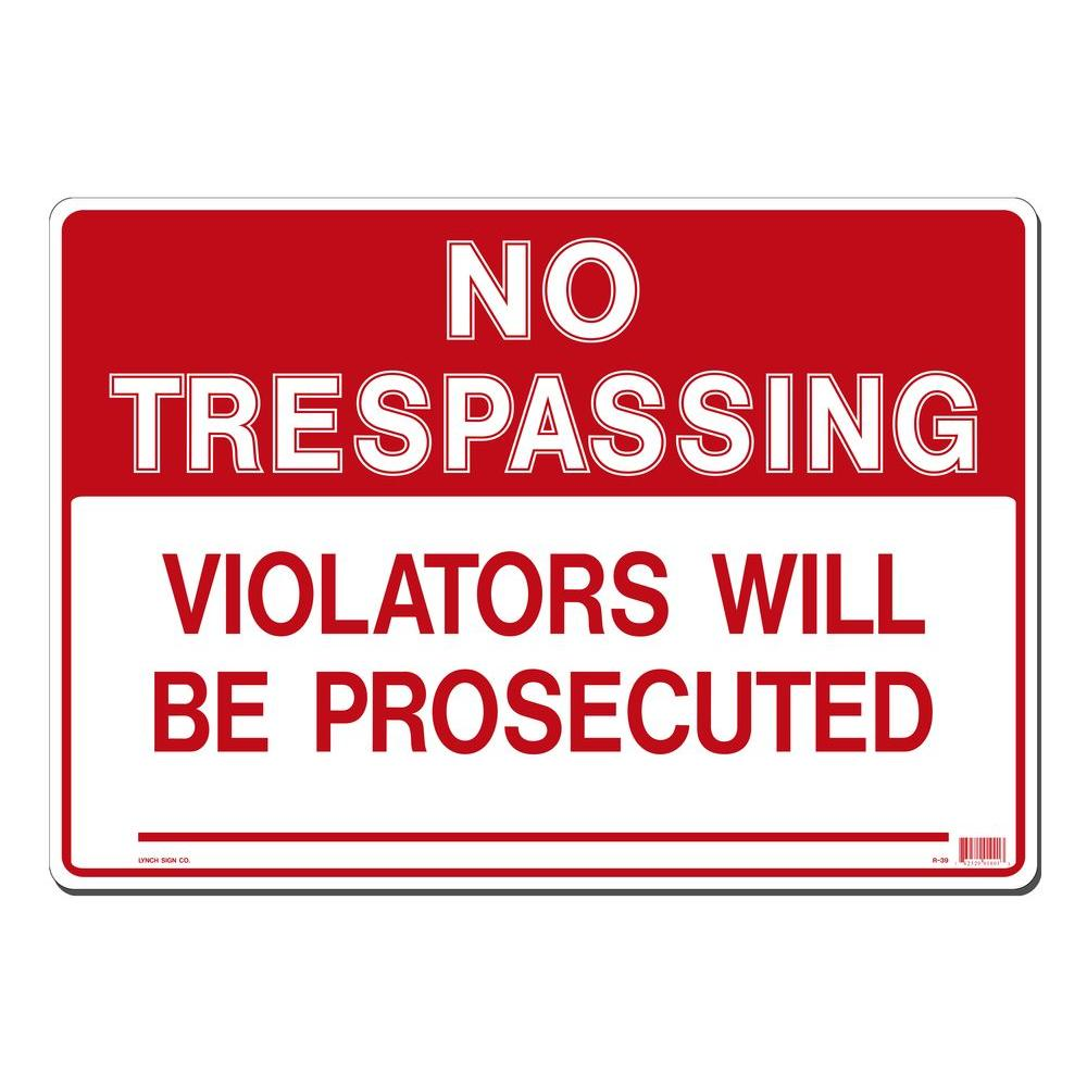 It is a graphic of Epic Printable No Trespassing Signs