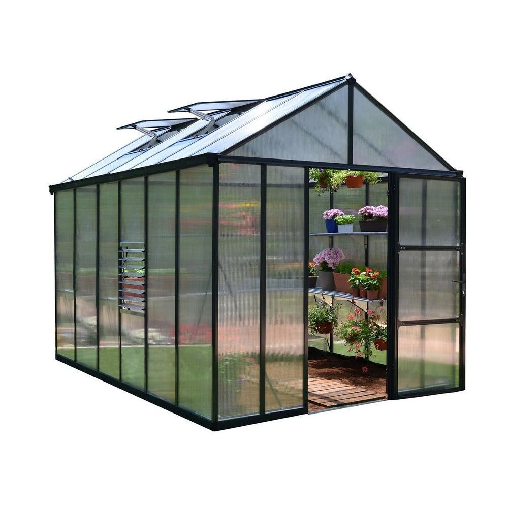 Palram Premium Class 8 ft. x 12 ft. Glory Greenhouse