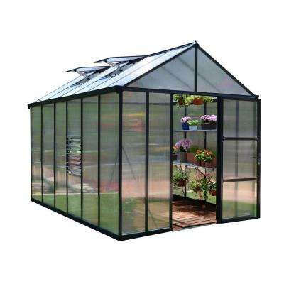 Premium Class 8 ft. x 12 ft. Glory Greenhouse