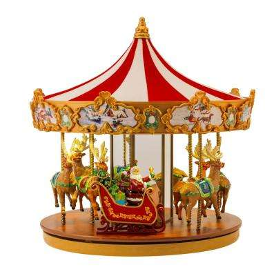 12 in. Very Merry Carousel