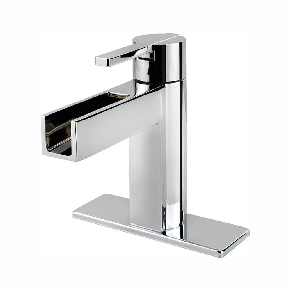 Pfister Vega Single Hole Single-Handle Bathroom Faucet in Polished Chrome