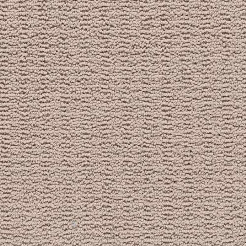 Carpet Sample - Plumlee - Color Sea Pearl Loop 8 in. x 8 in.