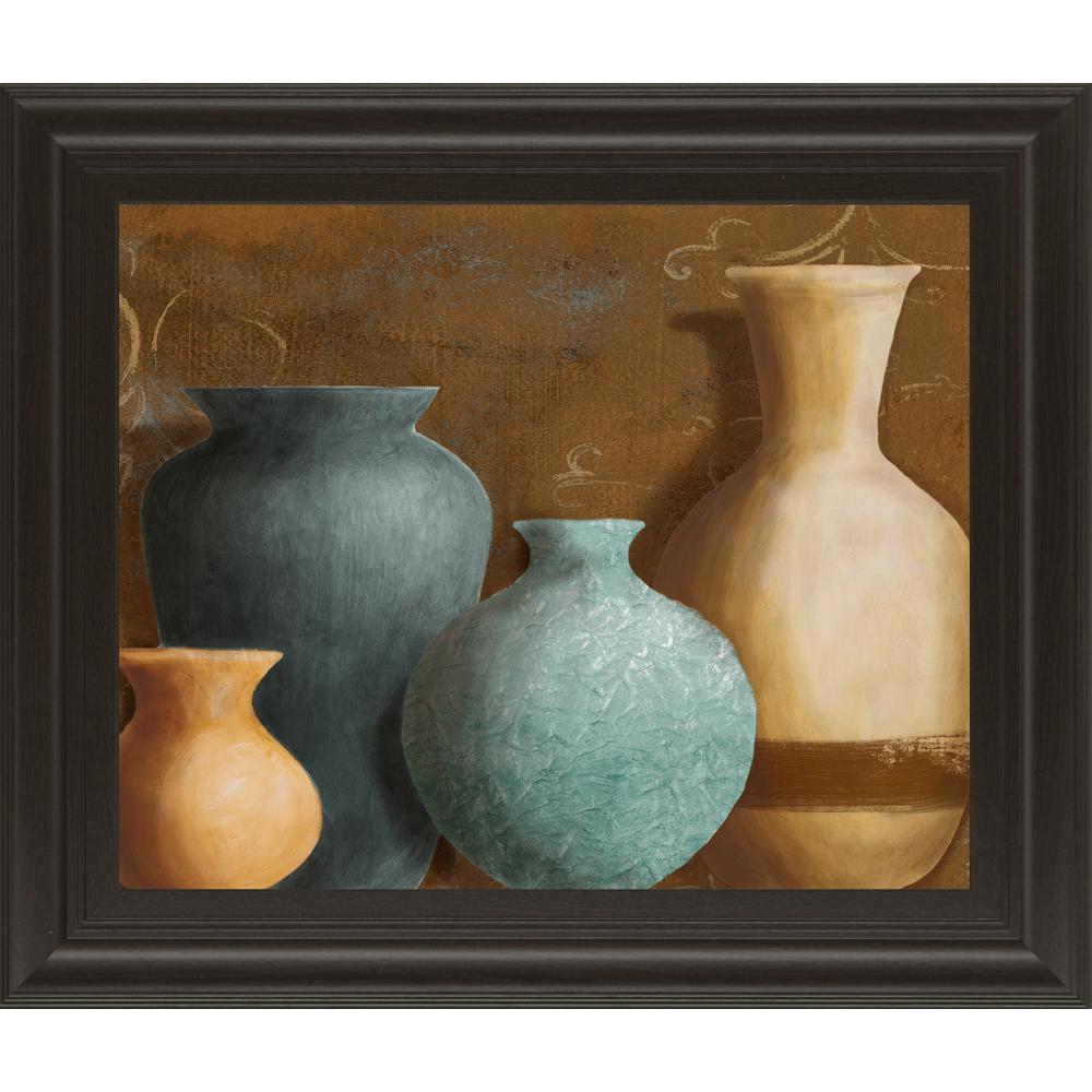 "22 in. x 26 in. ""Ancient Clay II"" by Lanie Loreth Framed Printed Wall Art"