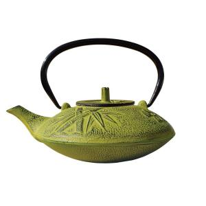 Old Dutch Sakura 4.62-Cup Teapot in Moss Green by Old Dutch