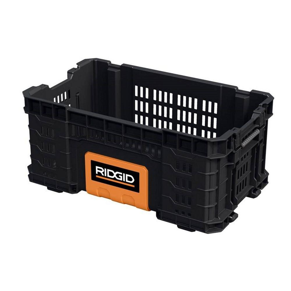 Ridgid 22 In Pro Box Black 226036 The Home Depot