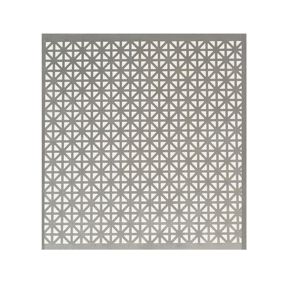 M-D Building Products 12 in. x 24 in. Union Jack Aluminum Sheet in ...