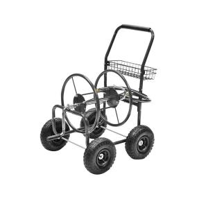 Click here to buy Precision 250 ft. Hose Reel Cart by Precision.
