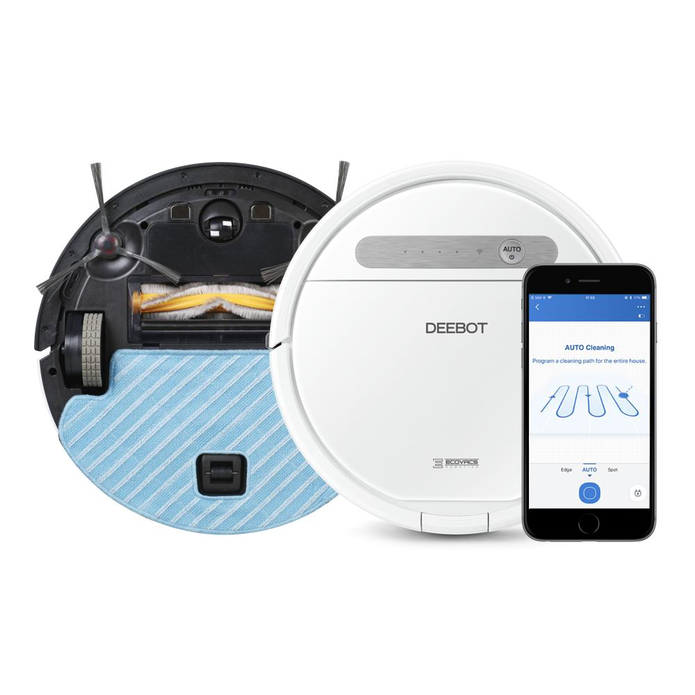 Ecovacs Deebot Robotic Vacuum Cleaner Ozmo610 The Home Depot