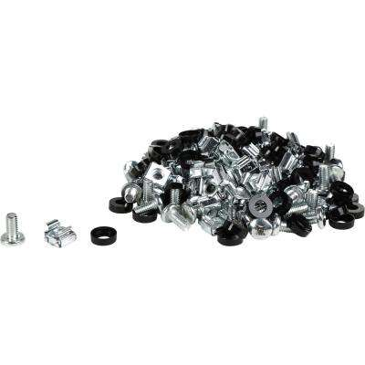 M6 Server Cage Nuts and Mounting Screws (60-Pack)