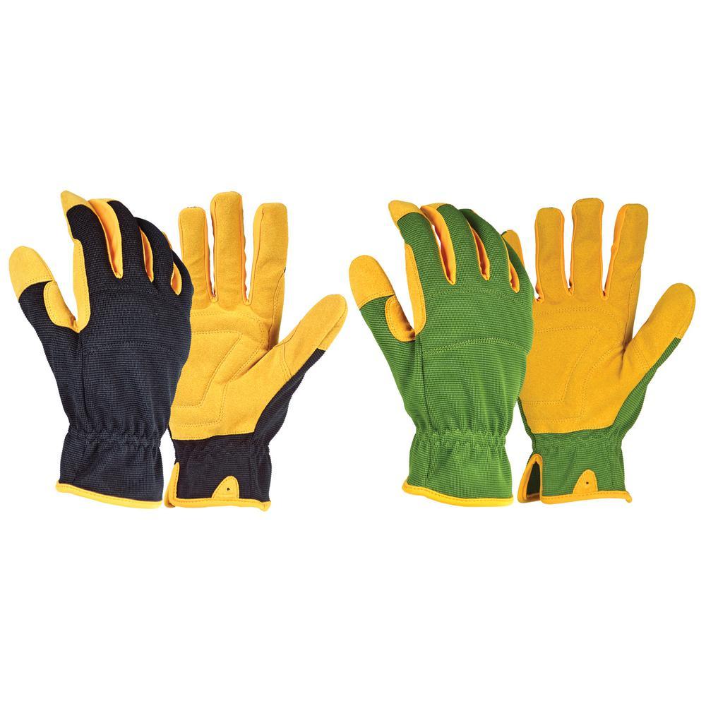 High Performance Large Work Gloves (2-Pair)