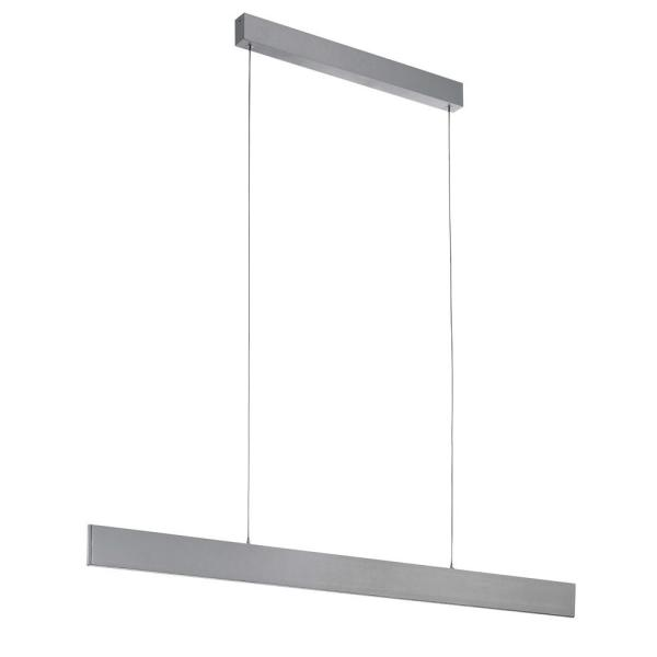 Climene 100-Watt Brushed Aluminum Integrated LED Pendant