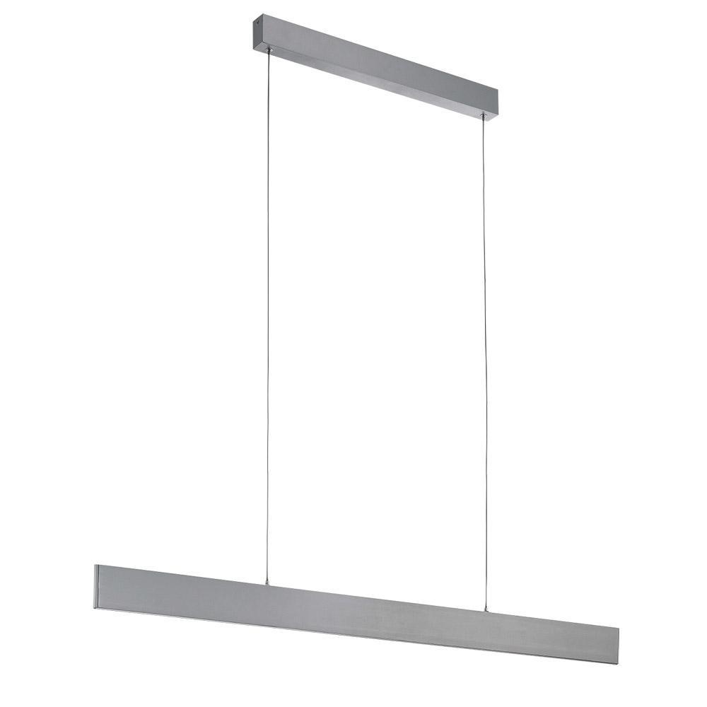 Eglo Climene 100 Watt Brushed Aluminum Integrated LED