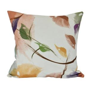 16 inch Windy, Floral Print Decorative Pillow by