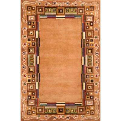 Contempo Gold 5 ft. x 8 ft. Indoor Area Rug