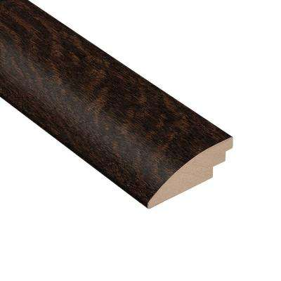 Wire Brushed Oak Sweeney 3/8 in. Thick x 2 in. Wide x 78 in. Length Hardwood Hard Surface Reducer Molding