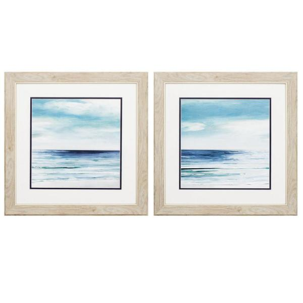 Homeroots Victoria White Gallery Frame Set Of 2 365293 The Home Depot