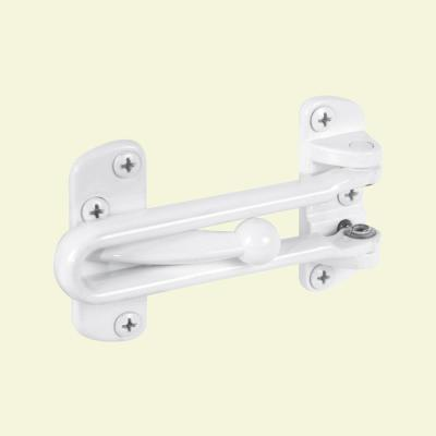 Diecast, White Painted, Swing Bar Door Guard