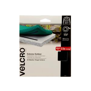 VELCRO Brand 10 ft. x 1 inch Black Industrial Strength Extreme Tape by VELCRO Brand