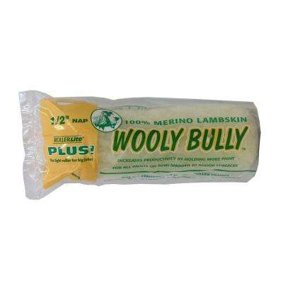 Wooly Bully 6-1/2 in. x 1/2 in. Lambskin Roller Cover