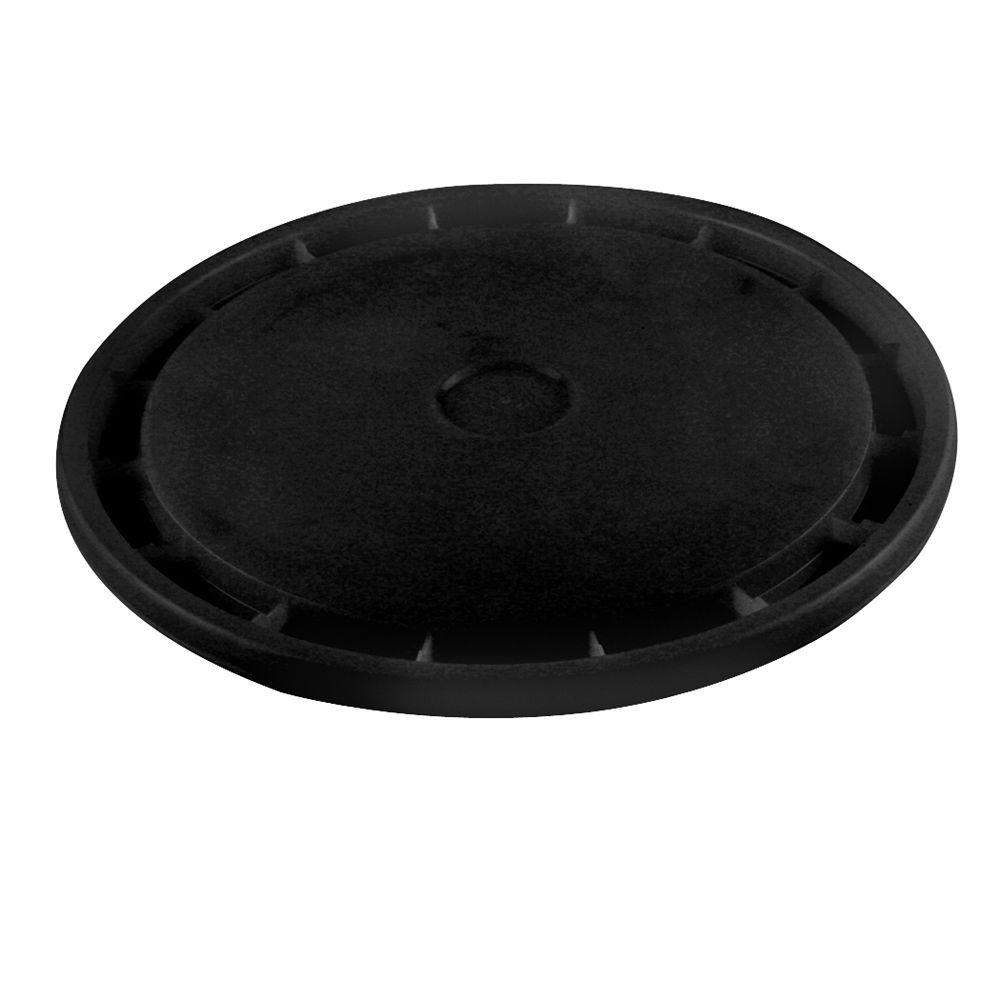 null Black Reusable Easy Off Lid for 5 gal. Pail (Pack of 10)