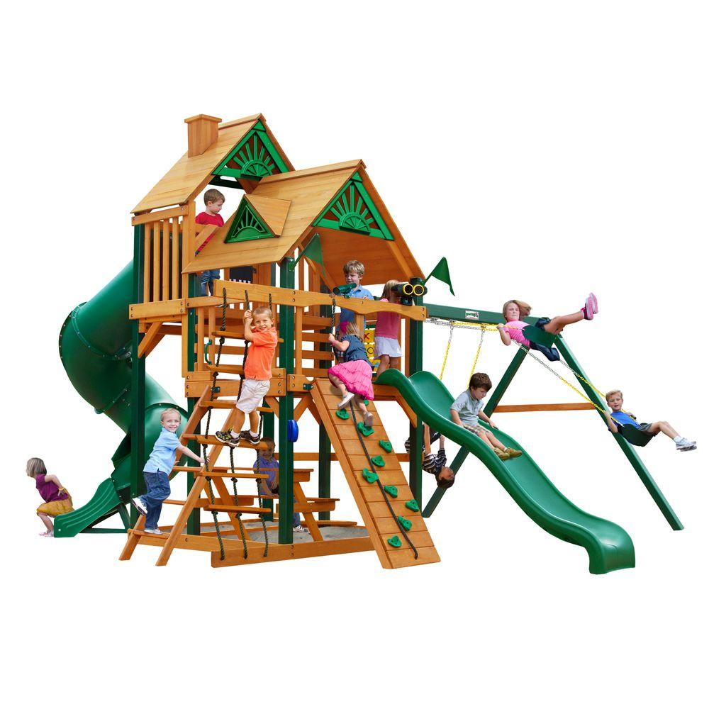Gorilla playsets great skye i with timber shield cedar for Gorilla playsets