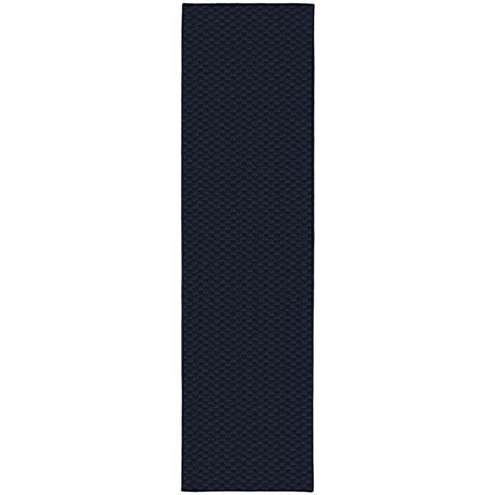 Medallion Navy 3 ft. x 8 ft. Runner Rug