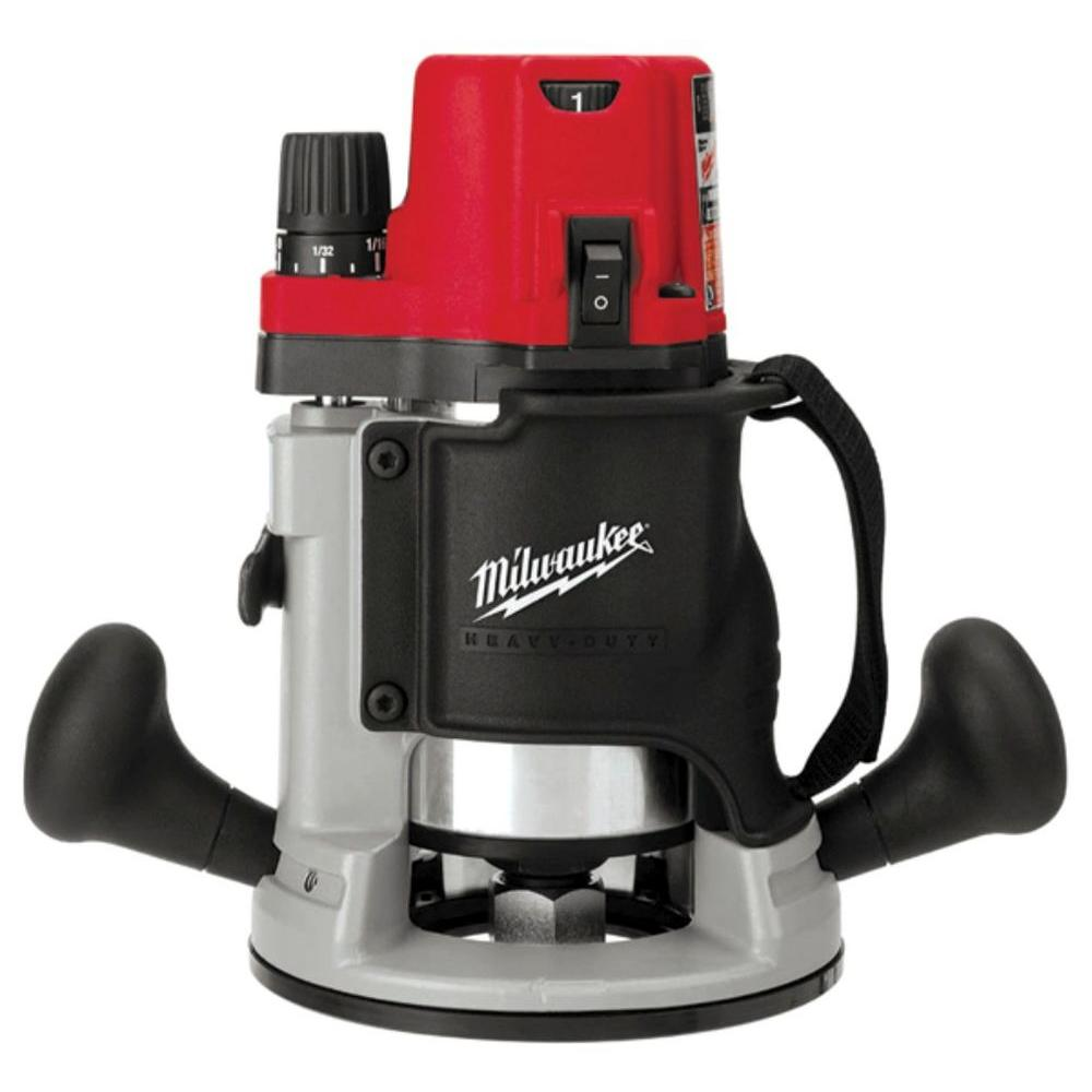 Milwaukee 13 Amp Corded 2-1/4 in. Max HP EVS BodyGrip Router
