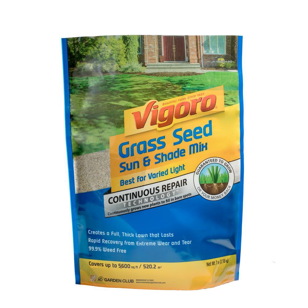 Vigoro 7 lb. Sun and Shade Grass Seed Mix