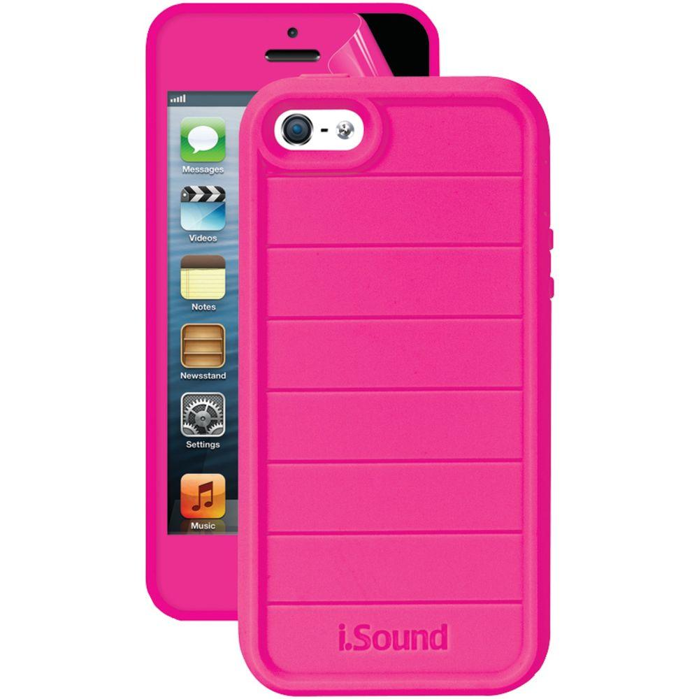 iSound 5341 iPhone 5/5S 3 in 1 Dura-Guard Case - Pink