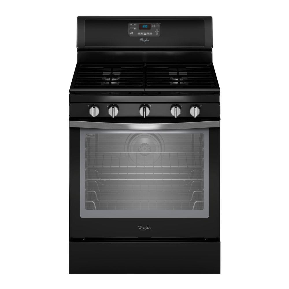 Phenomenal Whirlpool 5 8 Cu Ft Gas Range With Self Cleaning Convection Oven Wiring 101 Akebretraxxcnl