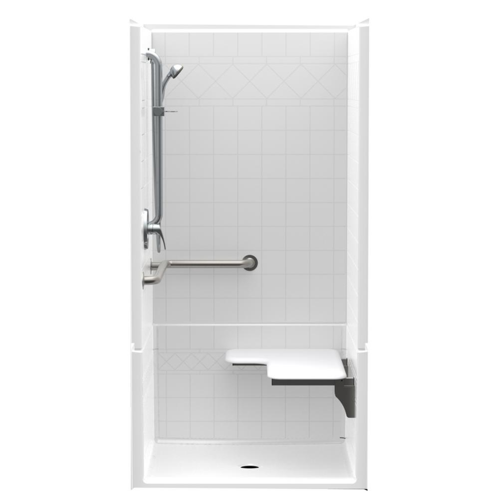 Acrylic - Barrier Free - Shower Stalls & Kits - Showers - The Home Depot