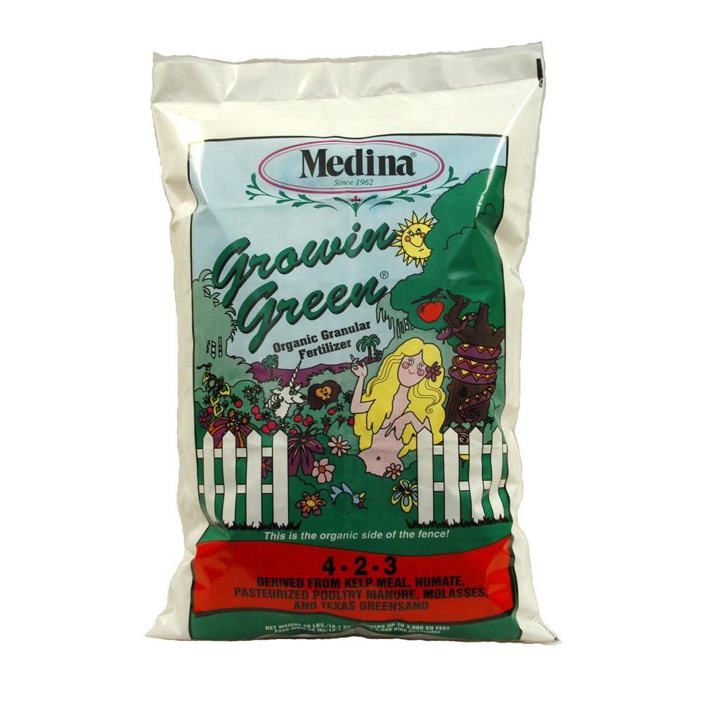 Growin Green 40 lbs. Organic Fertilizer
