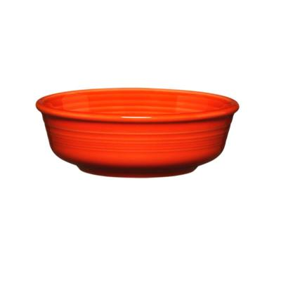 5-3/8 in. 15 oz. Poppy Ceramic Small Bowl