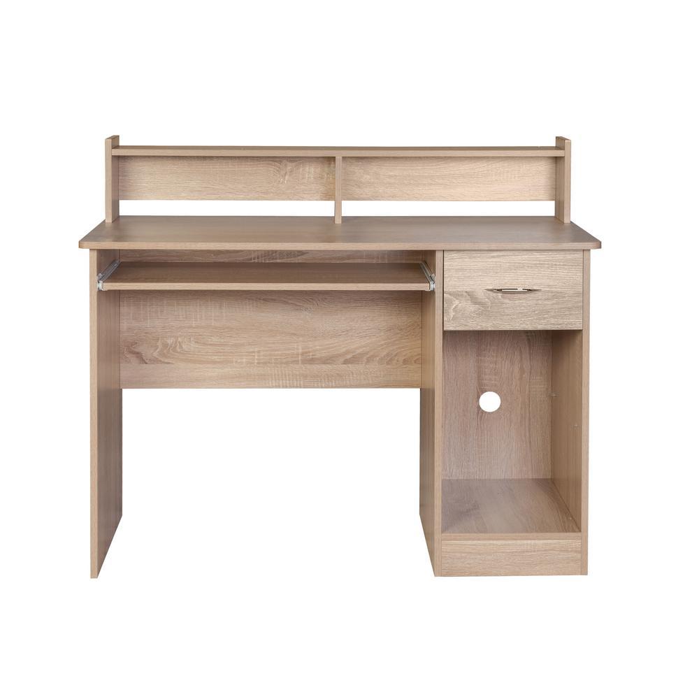 Light Oak Desks Home Office Furniture The Depot