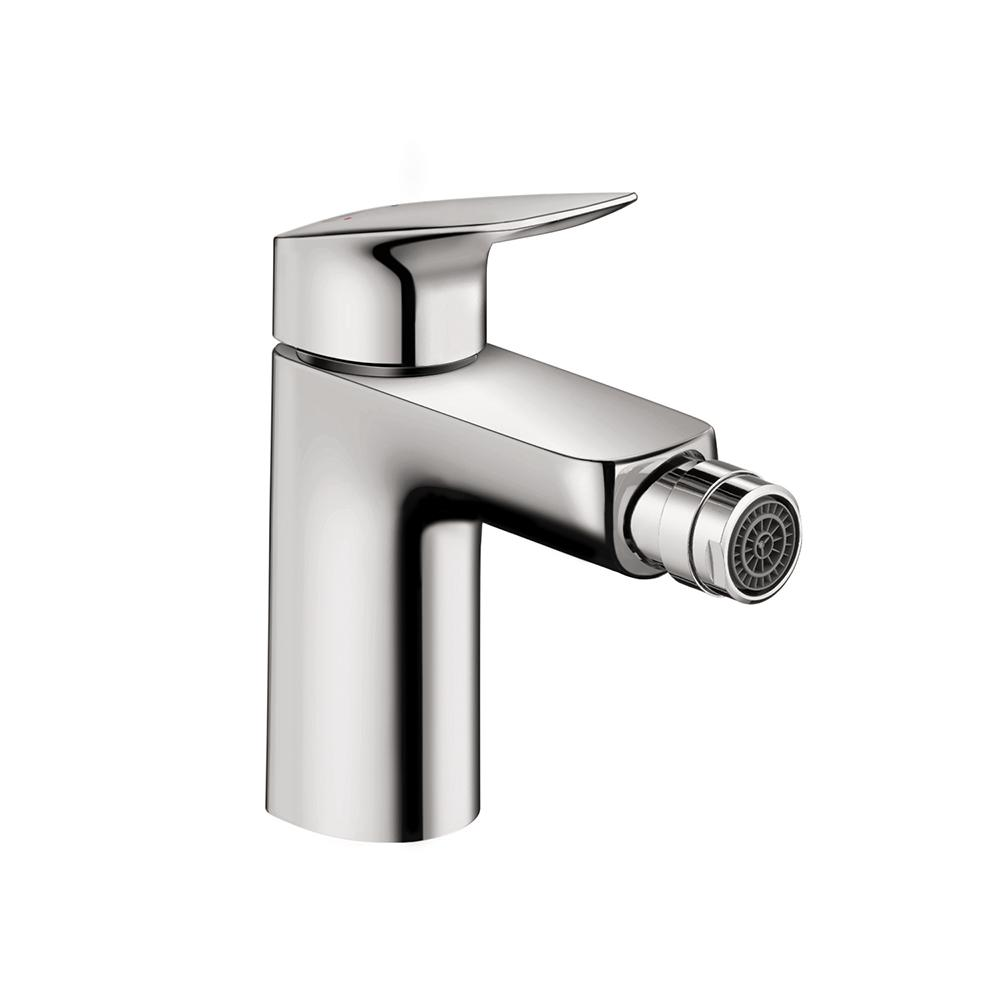Hansgrohe Logis Single-Handle Bidet Faucet with Drain in Chrome ...