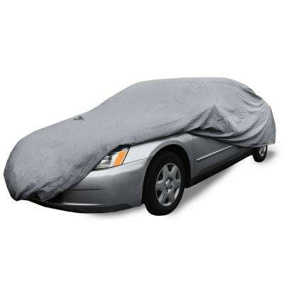 Supreme Umbrella Fabric Waterproof 225 in. x 80 in. x 47 in. XX-Large Exterior Car Cover